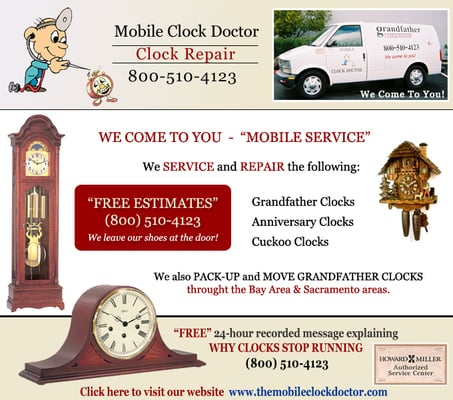 The Mobile Clock Doctor