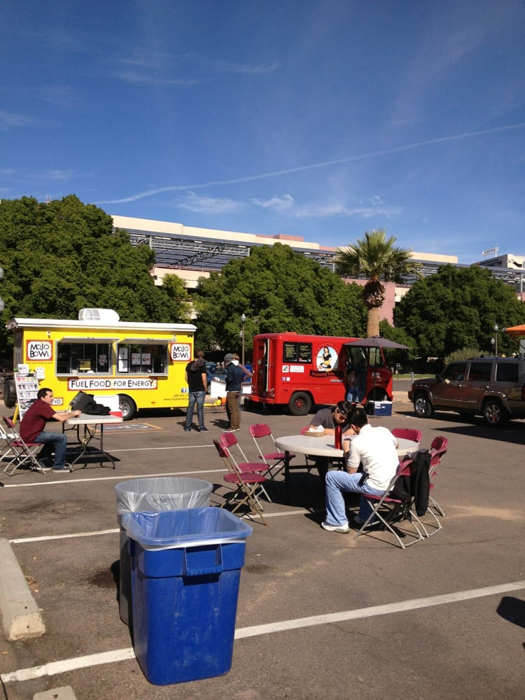 ASU Food Truck Block Party: 6th & Forest, Tempe, AZ