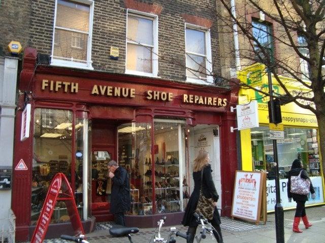 Shoe Repair Fitzrovia