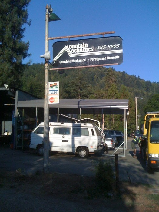 Mountain Mechanic: 13265 Big Basin Way, Boulder Creek, CA