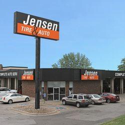 Jensen Tire Auto Auto Repair 707 N 120th West Omaha Omaha
