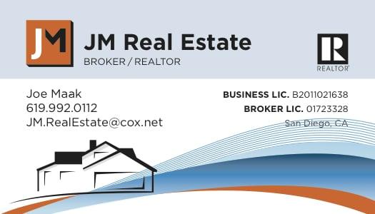 Joe Maak Real Estate LLC: San Diego, CA