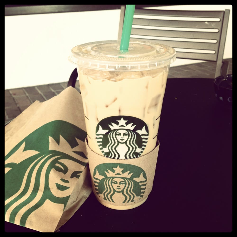 Iced white chocolate mocha - Yelp