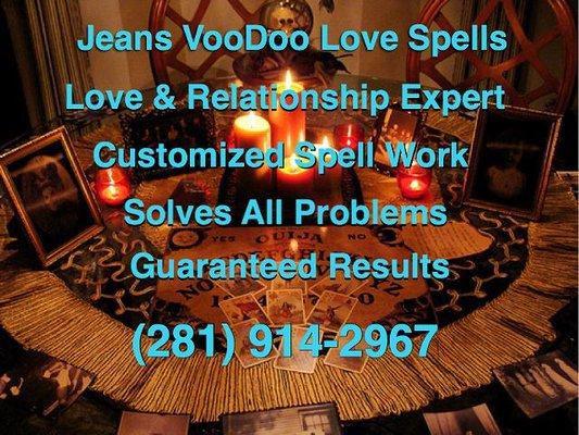 VooDoo Love Spells - Supernatural Readings - San Antonio, TX - Phone