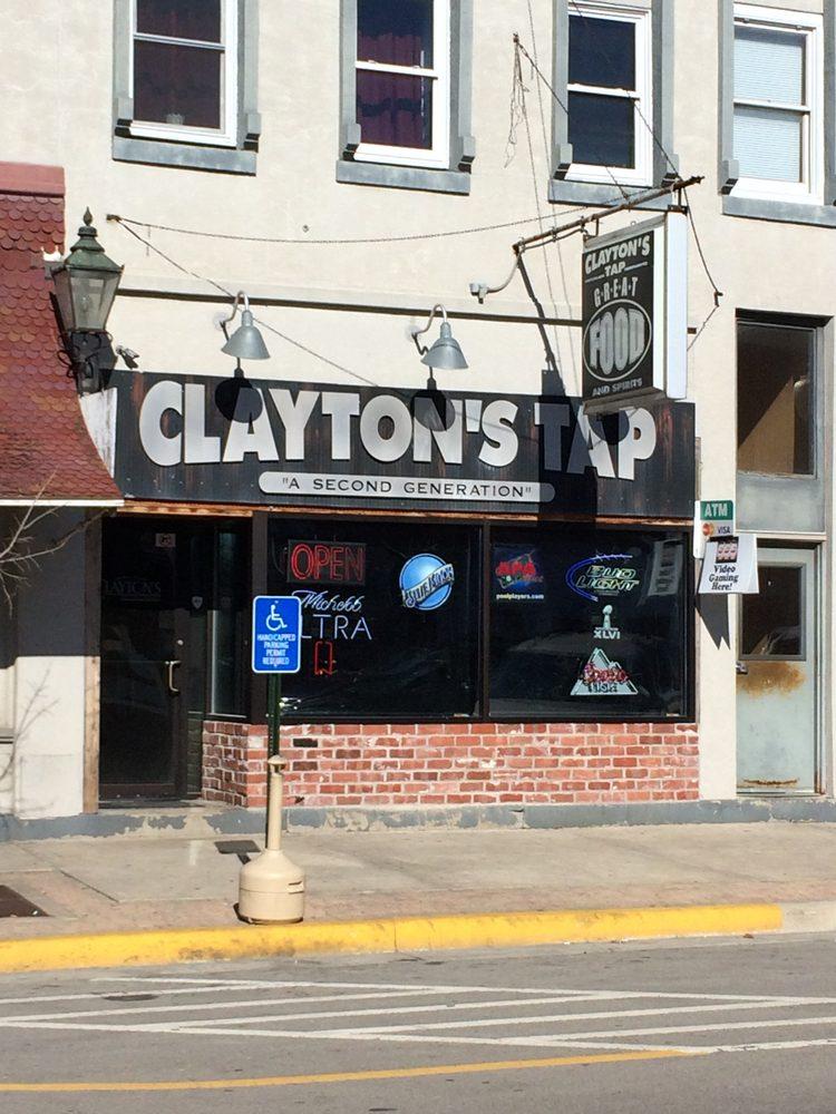 Clayton's Tap: 122 W Washington St, Morris, IL