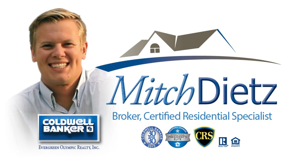 Mitch Dietz, Coldwell Banker Evergreen Olympic Realty Olympia | 3333 Capitol Blvd S, Olympia, WA, 98501 | +1 (360) 791-5009