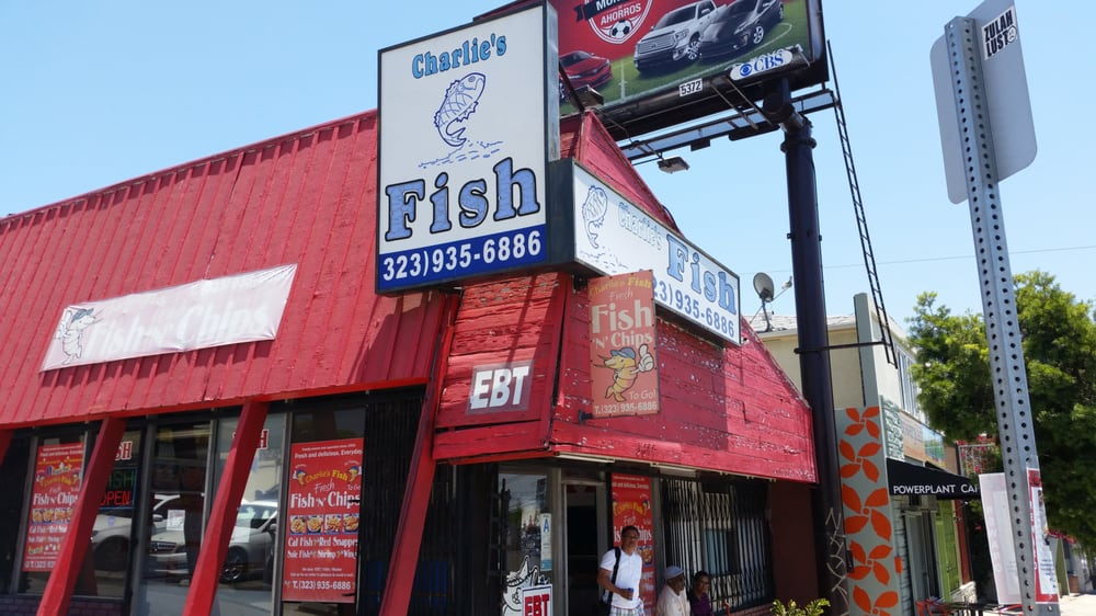 Charlie s fish chips 46 photos 55 reviews soul for Fish grill pico