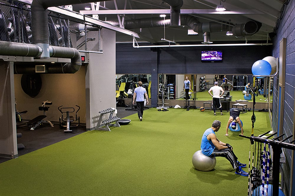 Fit Athletic Club Solana Beach Functional Training Space