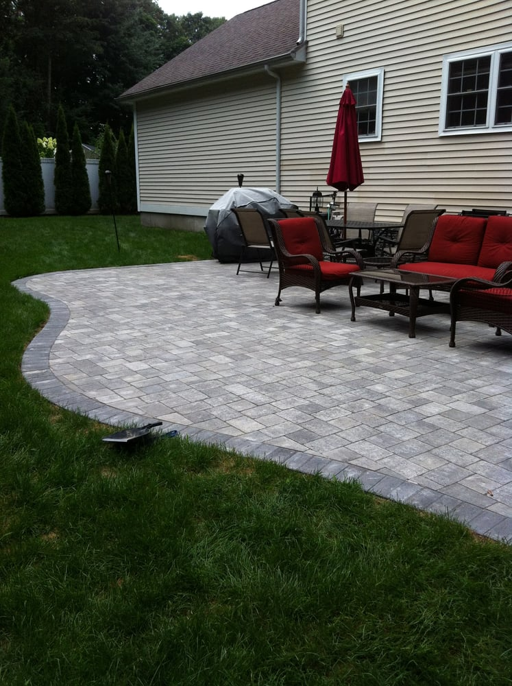 Photo Of Earth Products Inc.   Warwick, RI, United States. Pavestone Plaza