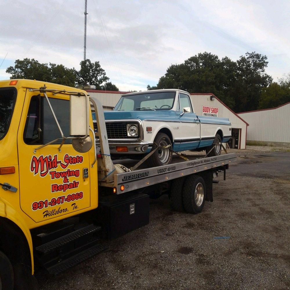 Mid-State Towing & Repair: 119 Stephenson Rd, Hillsboro, TN