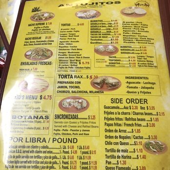 Mexican Restaurant White Oak Tx