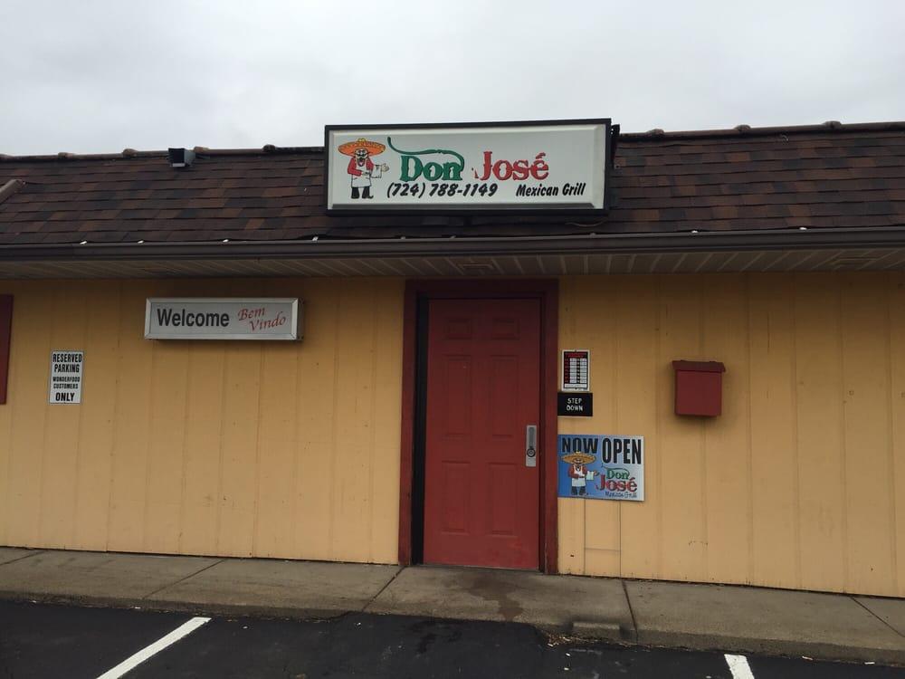 Don Jose Mexican Grill: 2697 Brodhead Rd, Aliquippa, PA