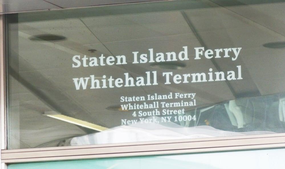 Staten Island Ferry Terminal Address