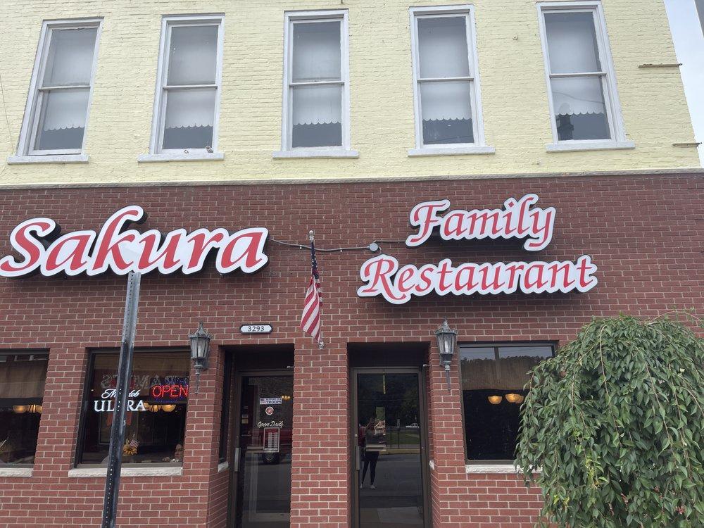 Sakura Family Restaurant: 3293 Belmont St, Bellaire, OH