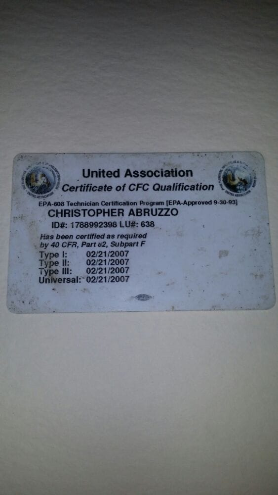 Universal Certificate Certificate Of Cfc Qualification Yelp
