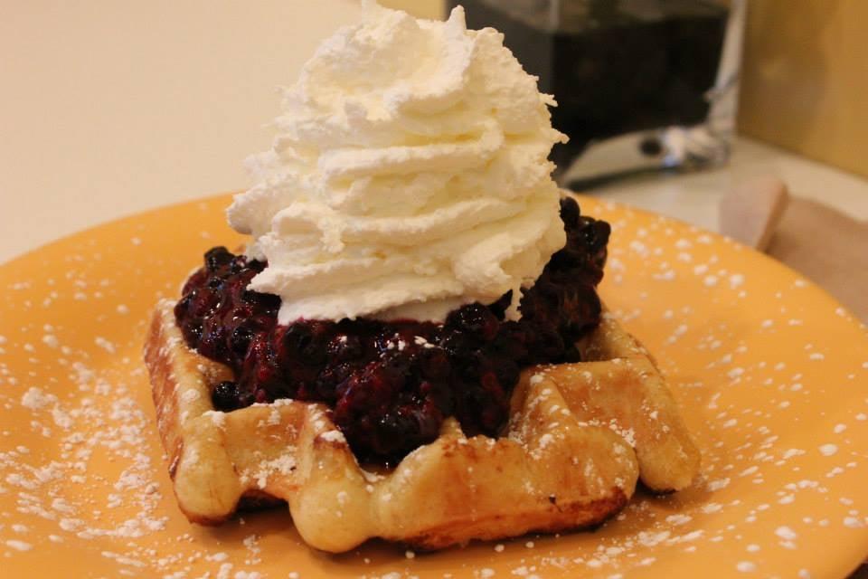 Sweet Iron Waffles
