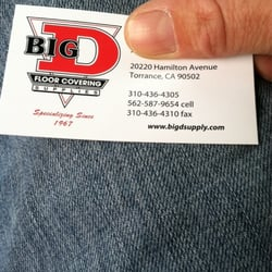 Photo Of Big D Floor Covering Supplies   Lawndale, CA, United States. Ok