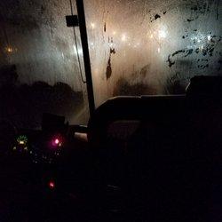 Photo of Lucky Star Bus - Boston, MA, United States. Foggy windows