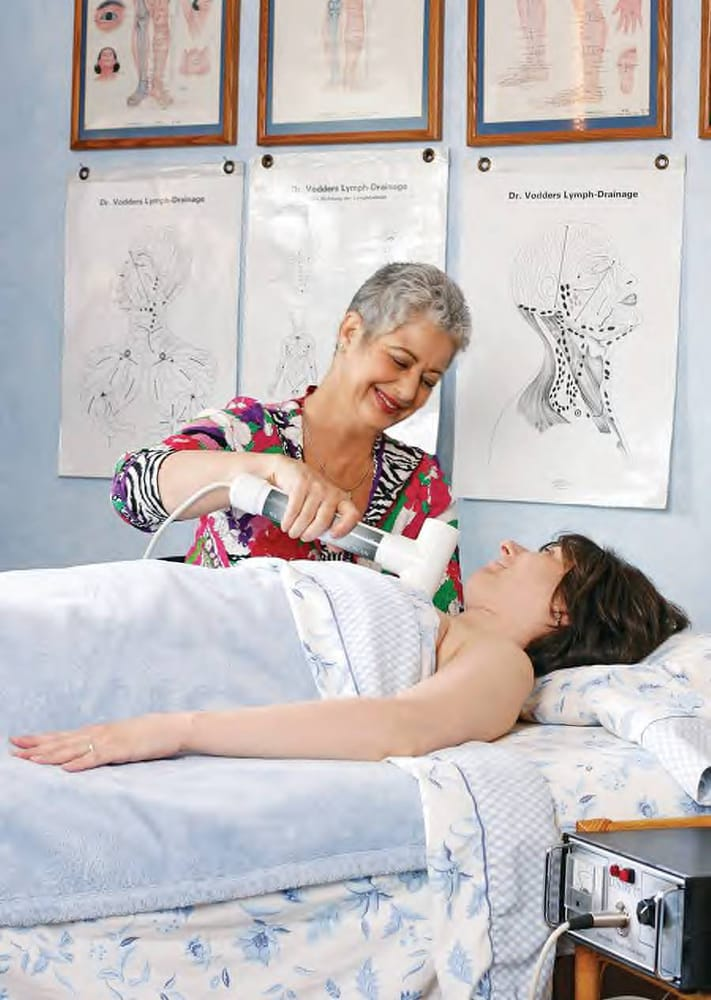 how to give yourself a lymphatic drainage massage