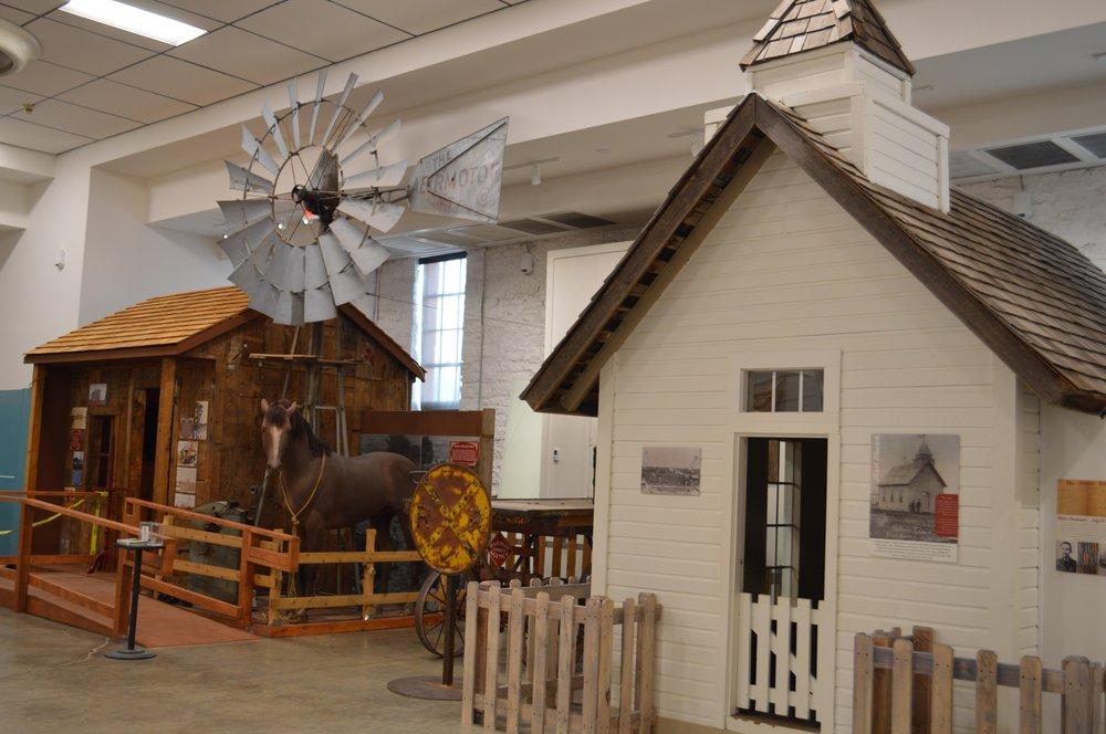 Edmond Historical Society & Museum: 431 S Blvd, Edmond, OK