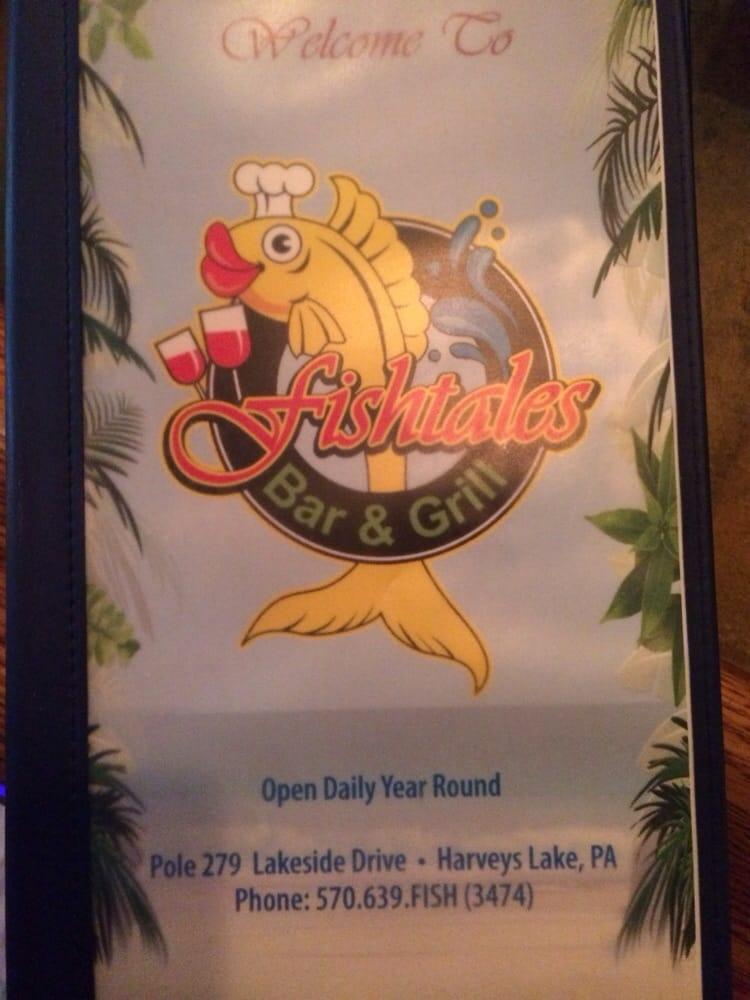 Fishtales Bar & Grill: 279 Lakeside Dr, Harveys Lake, PA