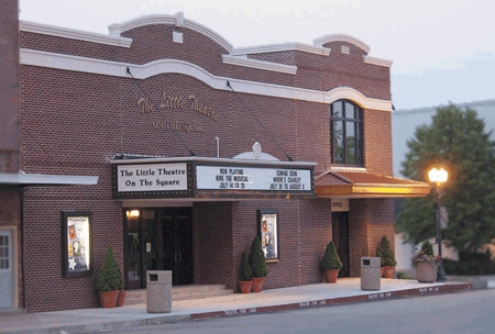 Little Theatre On the Square: 15 E Jefferson St, Sullivan, IL