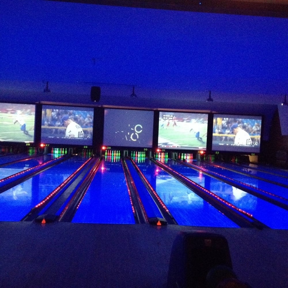 The Bowling Lanes. This Picture Is Deceiving. The Lanes