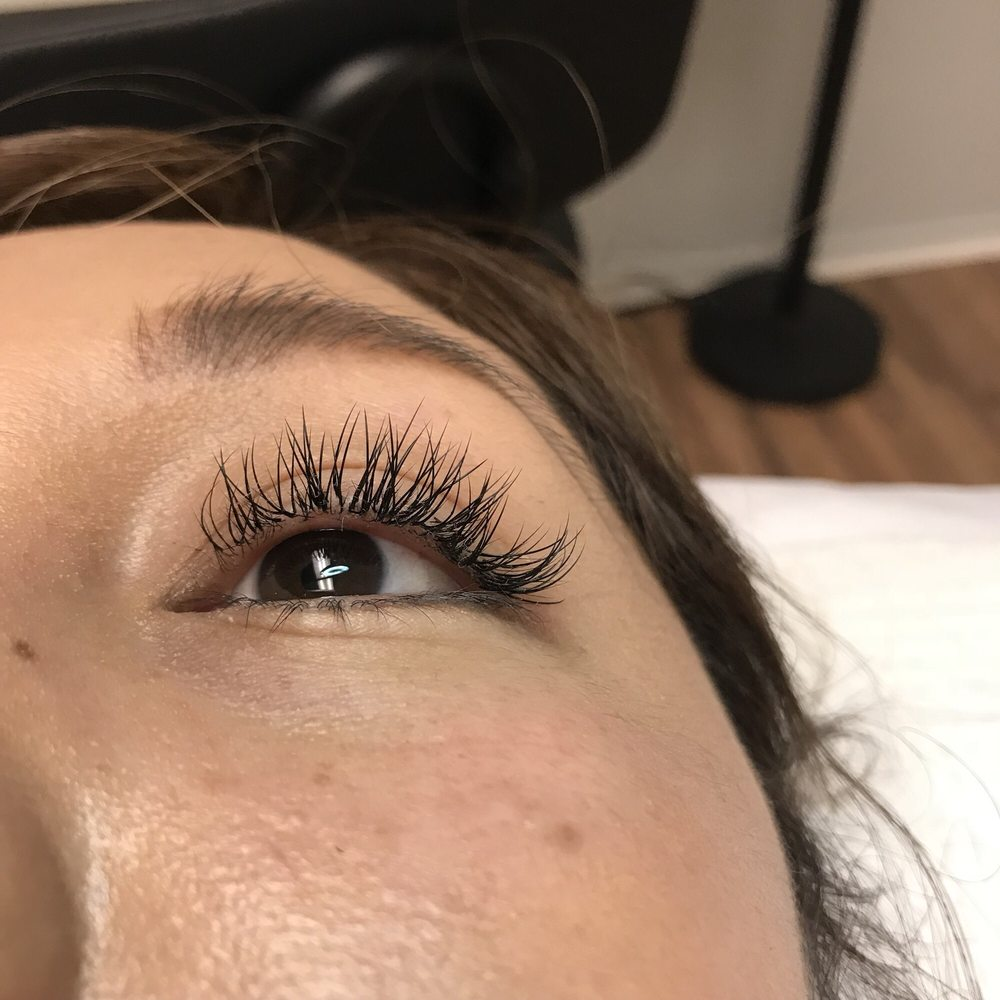 Eyelash Extension Classic Full Set Done By Minh Tran Yelp