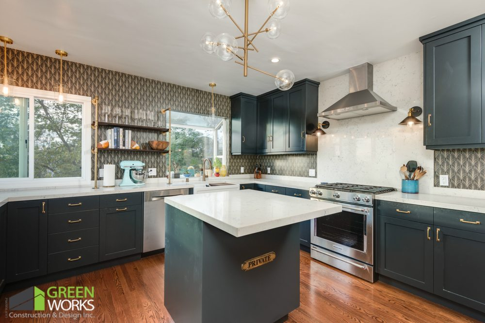 Greenworks Construction Design 48 Photos 48 Reviews Fascinating Kitchen Remodeling Woodland Hills Concept Property
