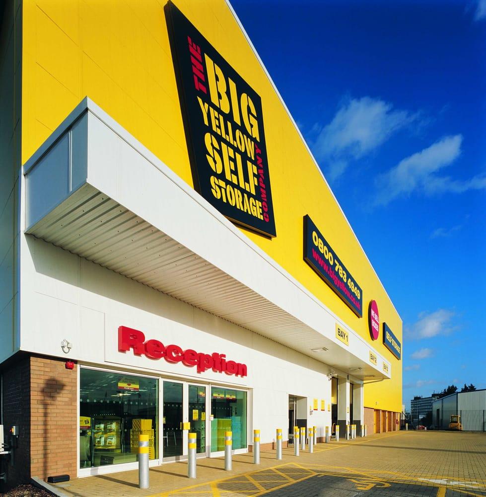 big yellow self storage magasinering 8 advent way edmonton london storbritannien. Black Bedroom Furniture Sets. Home Design Ideas