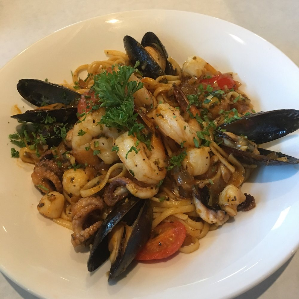 Cajun Seafood Pasta ] spicy n00ds for your oral enjoyment ;p - Yelp