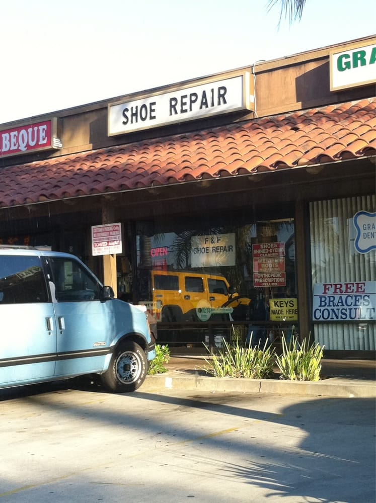 F F Shoe Repair Anaheim Ca