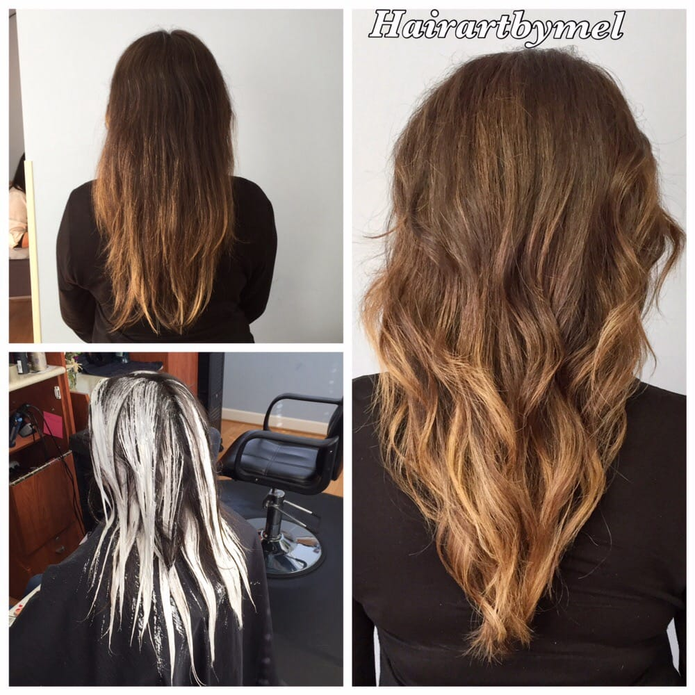 Balayage Before And After Balayage Looks Best With Multiple