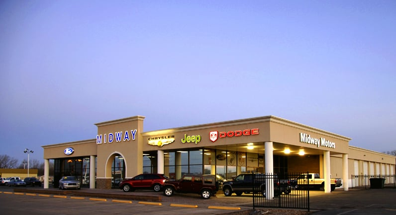 Midway motors used car supercenter car dealers 2075 e for Midway motors used car supercenter mcpherson ks