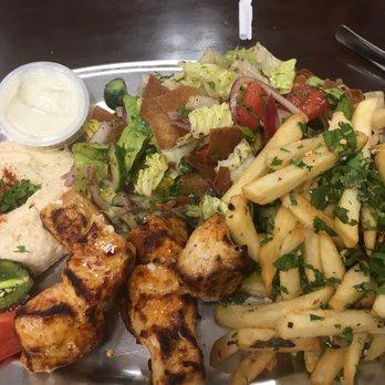 photo of hayats kitchen north hollywood ca united states chicken kabob entree - Hayats Kitchen