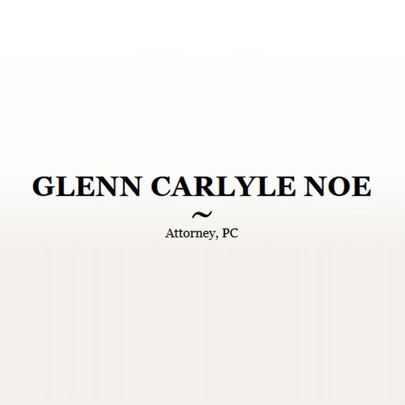 Glenn Carlyle Noe Attorney, PC: 44740 Highway 17, Vernon, AL