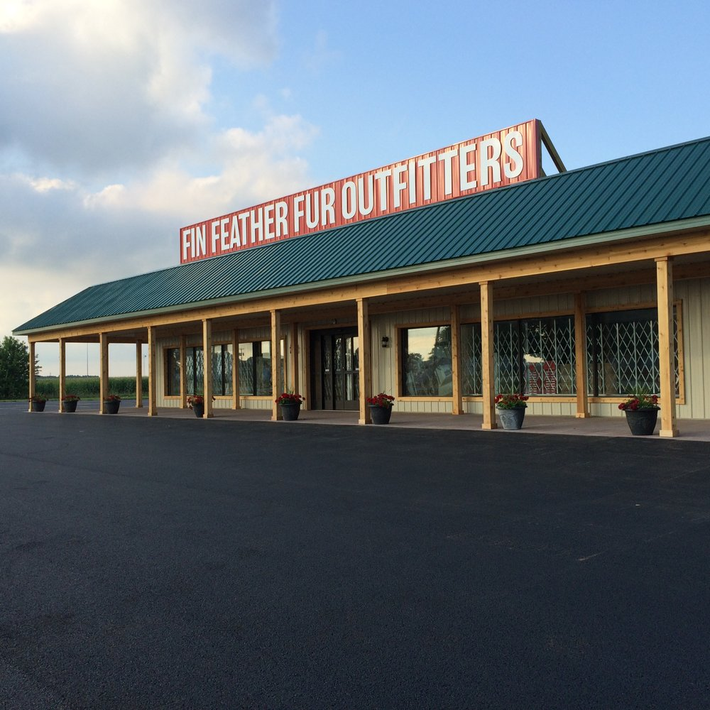 Fin Feather Fur Outfitters - Milan: 12400 US Hwy 250 N, Milan, OH