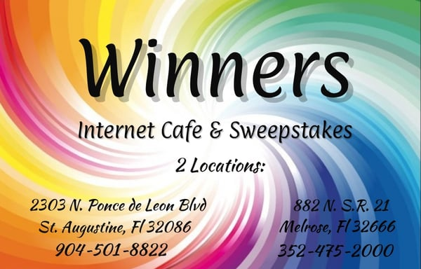 Winner's Internet Sweepstakes Cafe - CLOSED - Internet Cafes - 2303