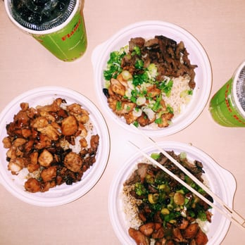 Photo Of The Flame Broiler San Go Ca United States En Bowl
