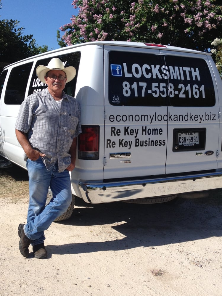 Economy Lock & Key: 1516 Royalwood Cir, Joshua, TX
