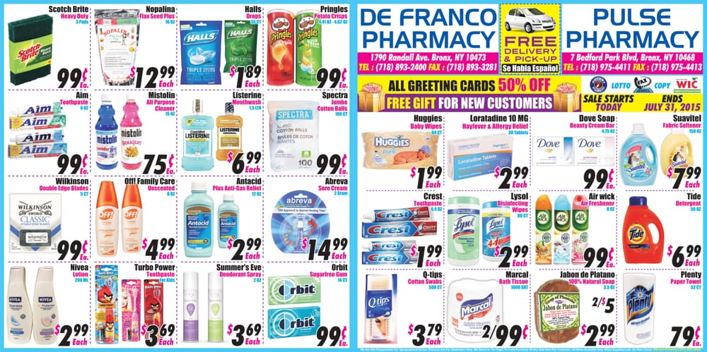 Pulse Pharmacy 17 Photos Drugstores 7 Bedford Park Blvd E