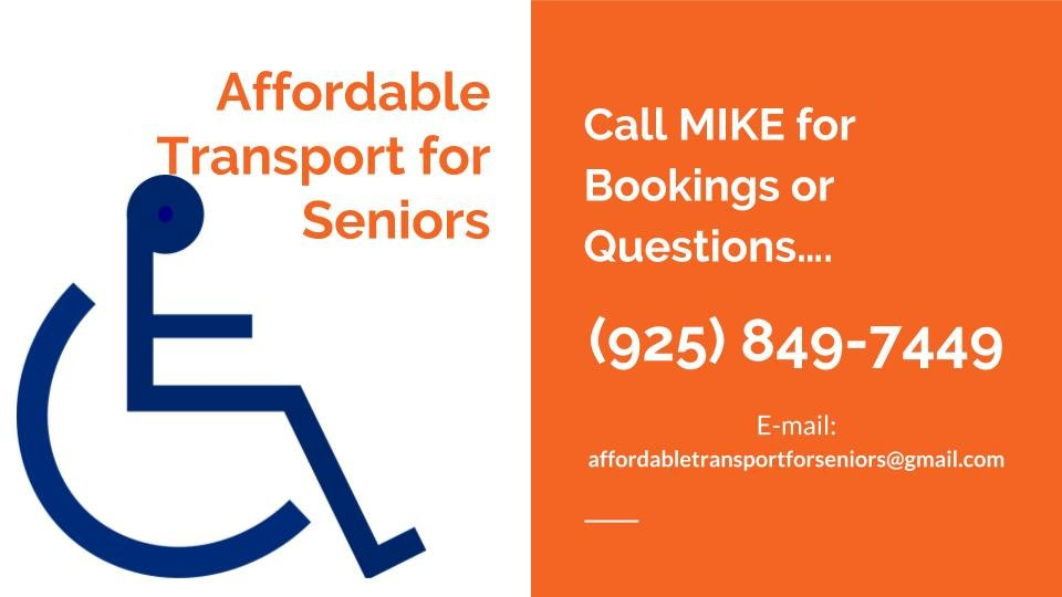 Affordable Transport for Seniors: 1179 Brookview Dr, Concord, CA