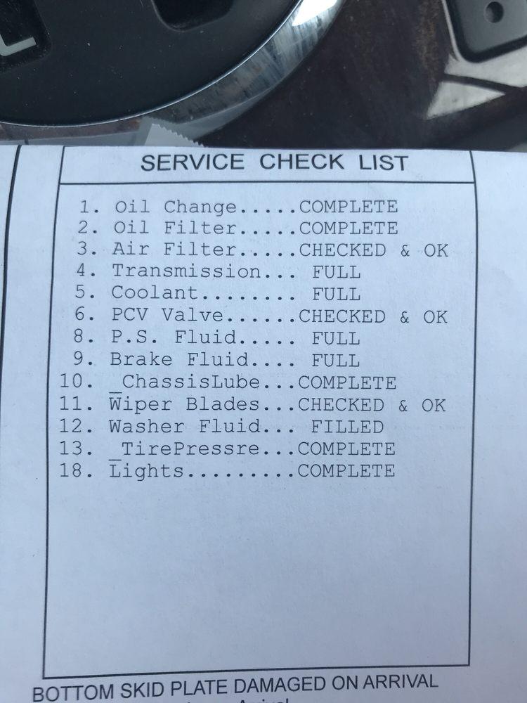 Ferndale Oil Change Center