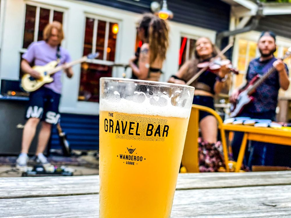 The Gravel Bar: 216 W Van Buren, Eureka Springs, AR