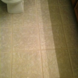 Photo Of Carpet Recovery Services Stillwater Ok United States Bathroom Tile After