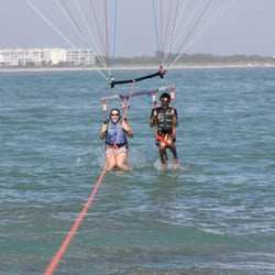 Photo Of Cocoa Beach Parasail Port Canaveral Fl United States Us Getting
