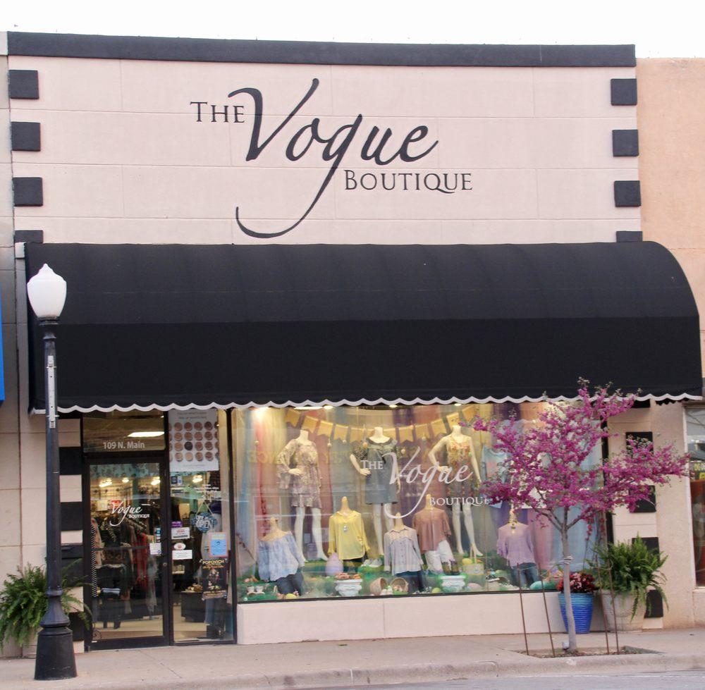 Vogue Boutique: 109 N Main St, Elk City, OK