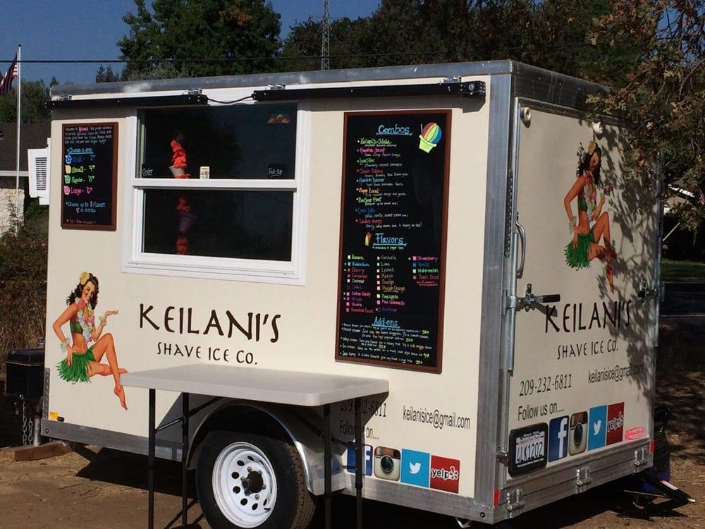 Keilani's Shave Ice: Linden, CA