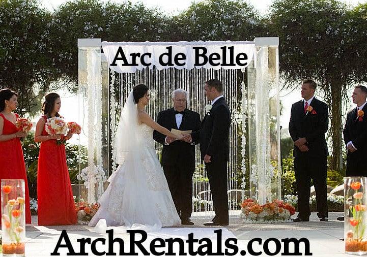 acrylic wedding chuppah altar lucite chuppa rentals los angeles orange