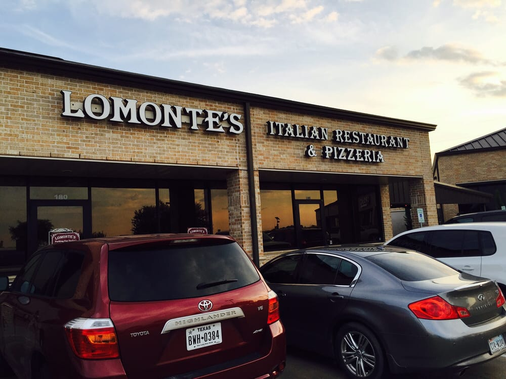 Lomonte S Italian Restaurant And Pizzeria Richmond Tx